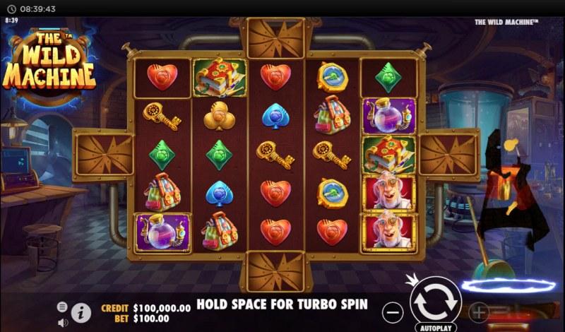 The Wild Machine :: Main Game Board
