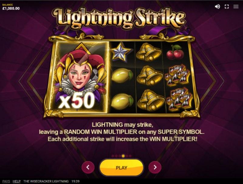 The Wisecracker Lightning :: Lightning Strike