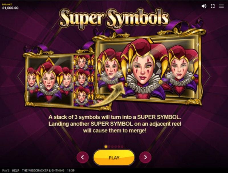 The Wisecracker Lightning :: Super Symbols