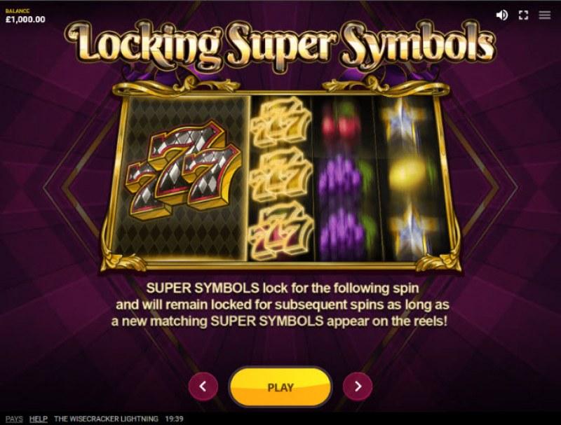The Wisecracker Lightning :: Locking Super Symbols