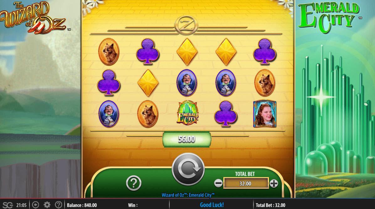 The Wizard of Oz Emerald City :: win