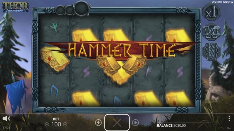 Thor Hammer Time :: Hammer Time triggered
