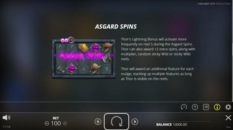Thor Hammer Time :: Asgard Spins