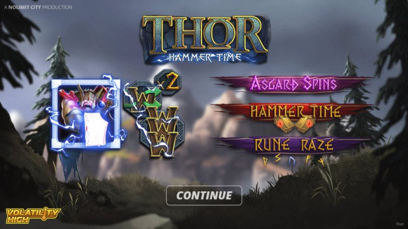 Play slots at Mango Casino: Mango Casino featuring the Video Slots Thor Hammer Time with a maximum payout of $150,000