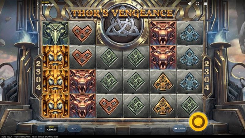 Thor's Vengeance :: Main Game Board