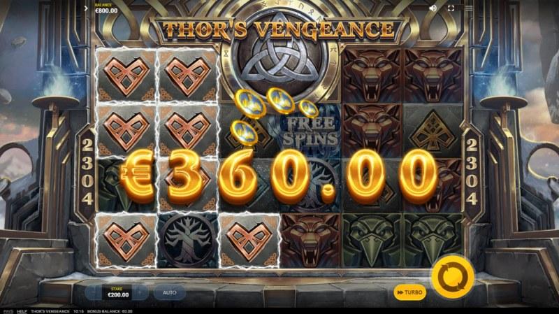 Thor's Vengeance :: Multiple winning combinations