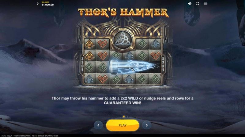 Thor's Vengeance :: Thor's Hammer
