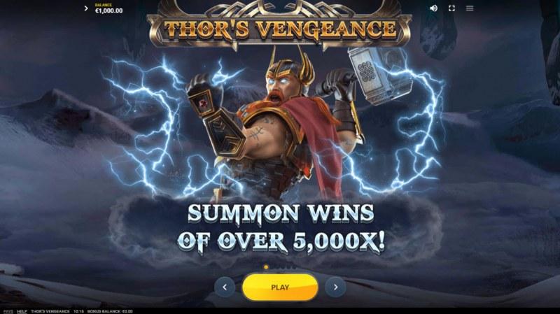 Thor's Vengeance :: Win over 5000x