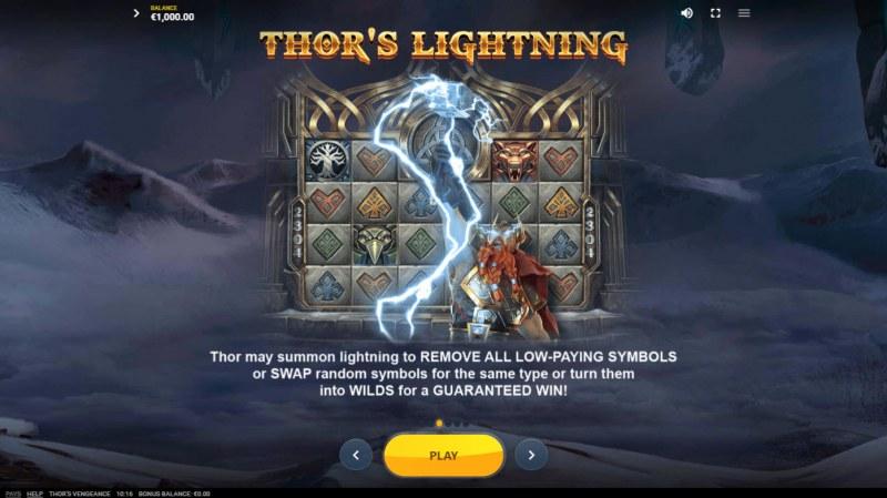 Thor's Vengeance :: Thor's Lightning