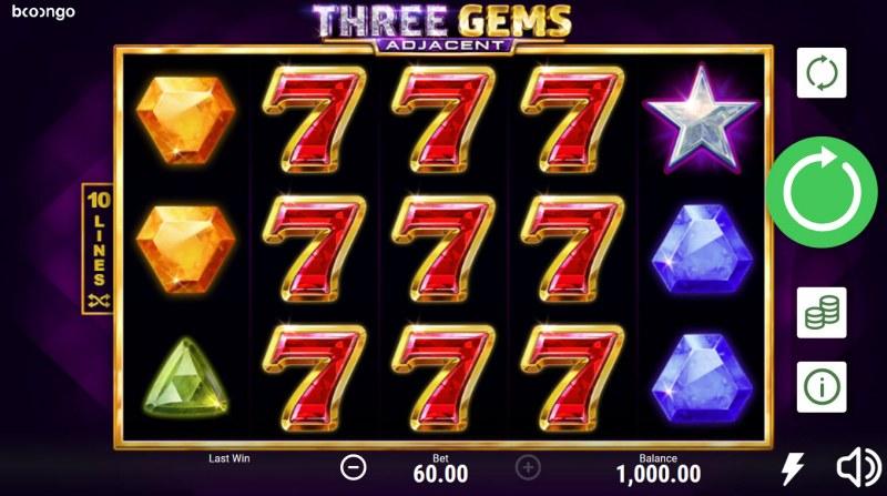Three Gems Adjacent :: Main Game Board
