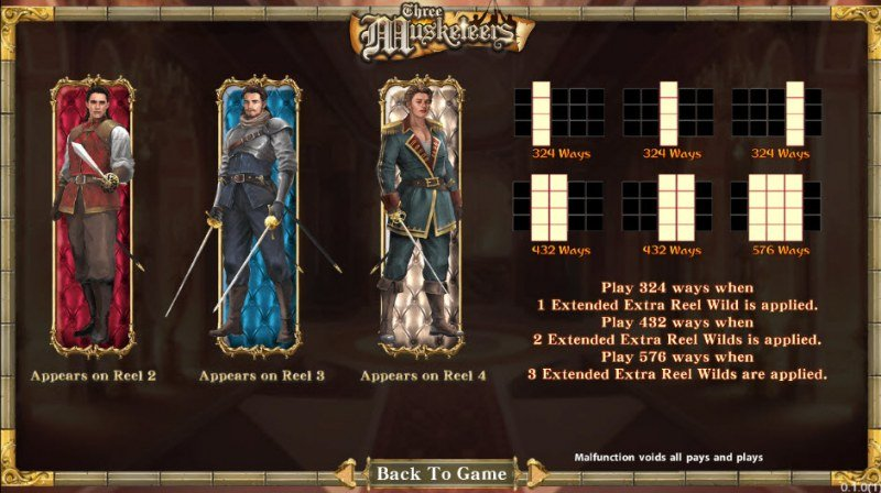 Three Musketeers :: Feature Rules