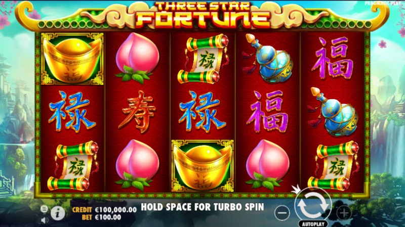 Three Star Fortune :: Main Game Board