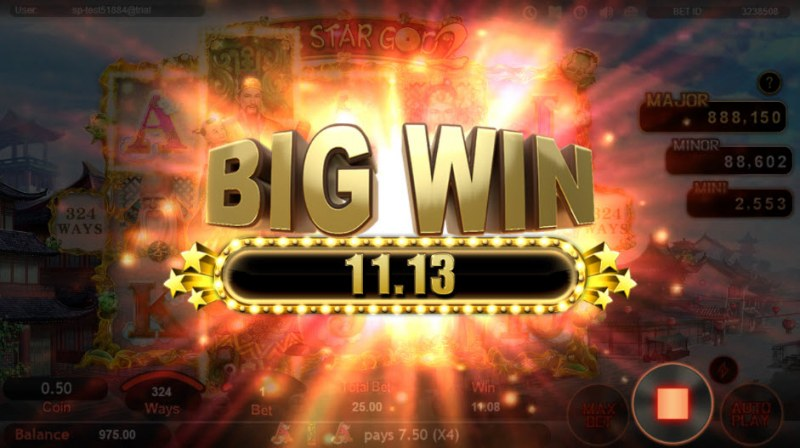 Three Star God 2 :: Big Win