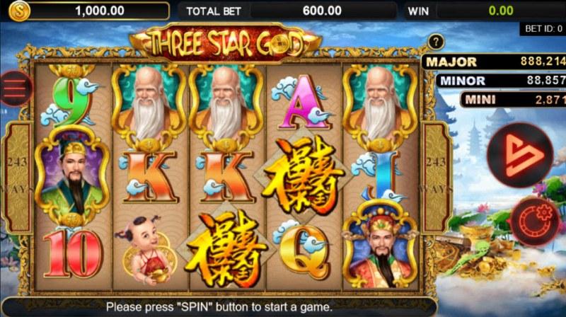 Three Star God :: Main Game Board