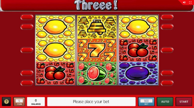 Threee :: Main Game Board