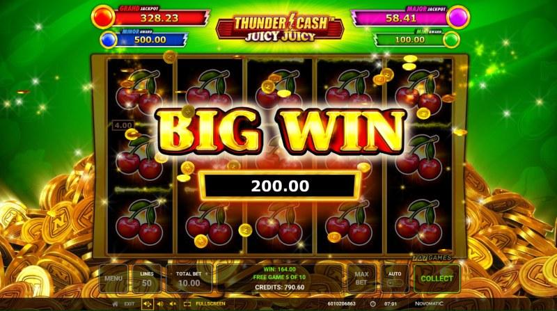 Thunder Cash Juicy Juicy :: Big Win