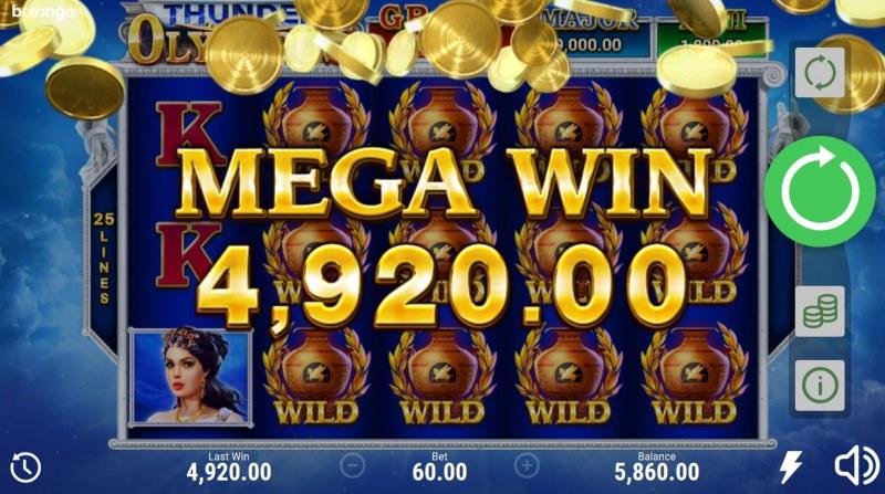 Thunder of Olympus Hold and Win :: Mega Win