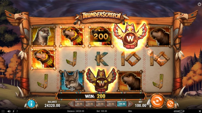 Thunder Screech :: A four of a kind win
