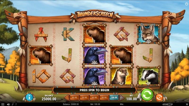 Thunder Screech :: Main Game Board