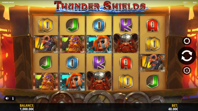 Thunder Shields :: Main Game Board