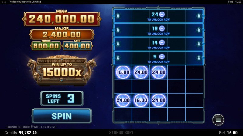 Thunderstruck Wild Lightning :: Link & Win