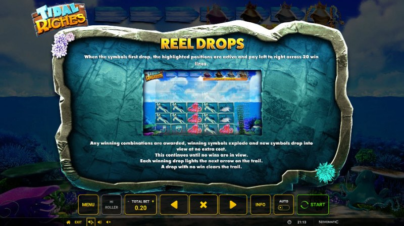 Tidal Riches :: Reel Drops
