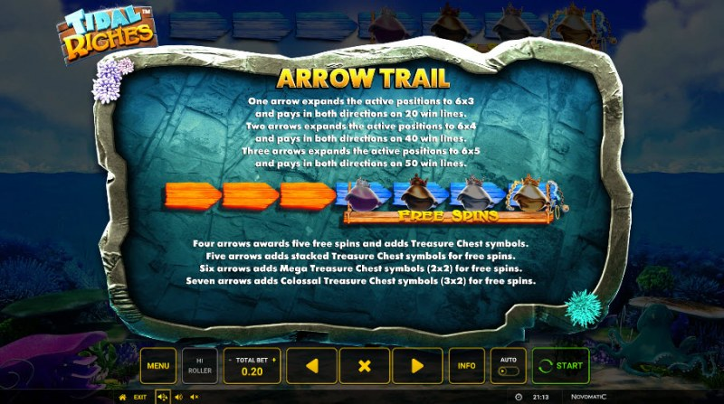 Tidal Riches :: Arrow Trail