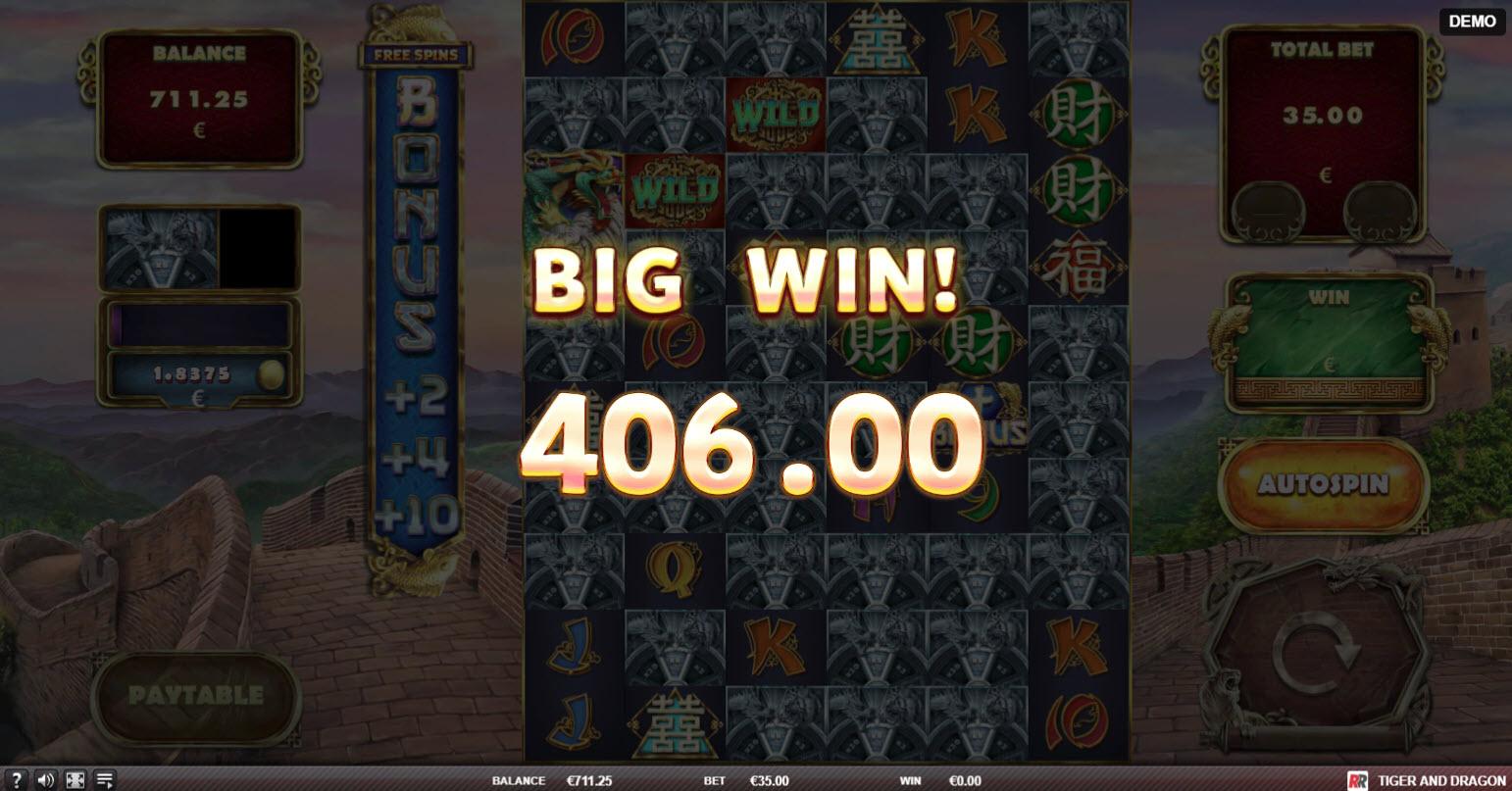 Tiger and Dragon :: Big Win