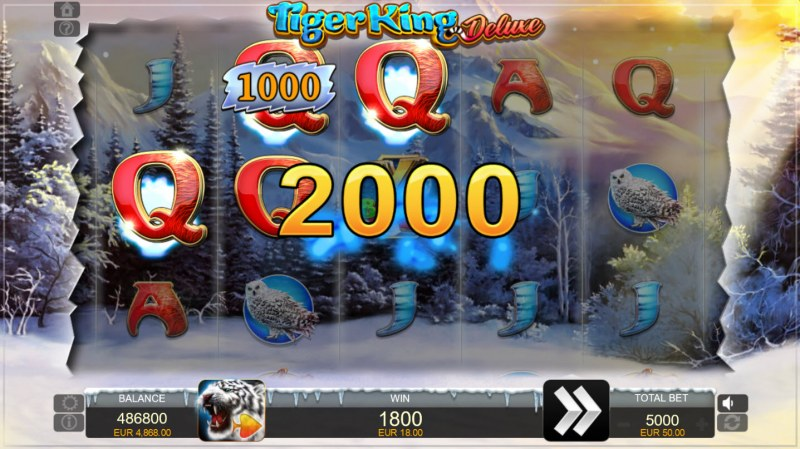 Tiger King Deluxe :: Three of a kind