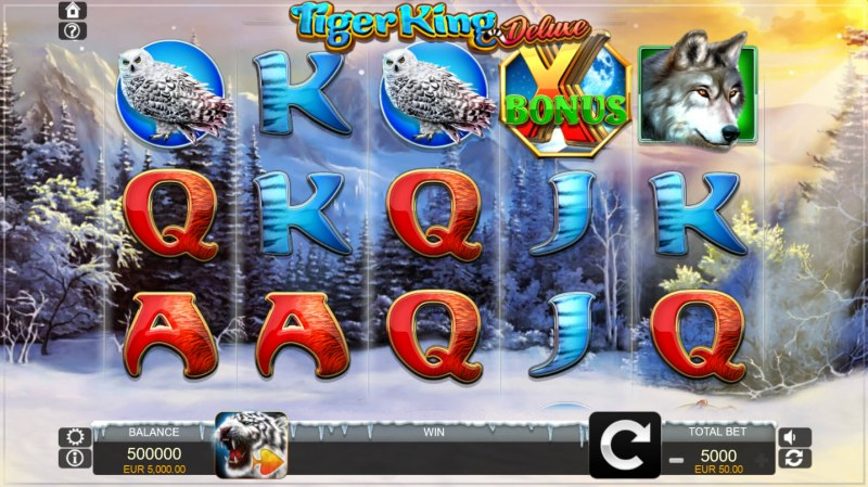 Tiger King Deluxe :: Main Game Board