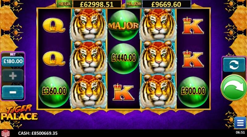 Tiger Palace :: Base Game Screen