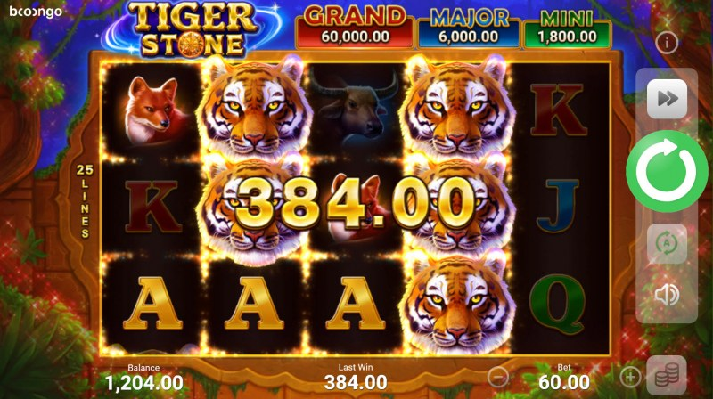 Tiger Stone :: Multiple winning combinations