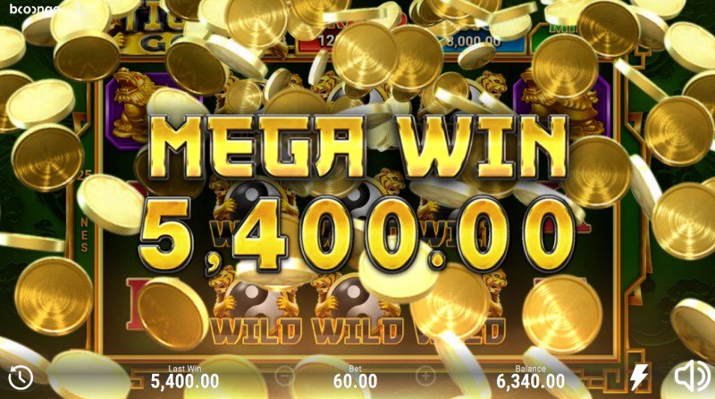 Tiger's Gold Hold and Win :: Mega Win