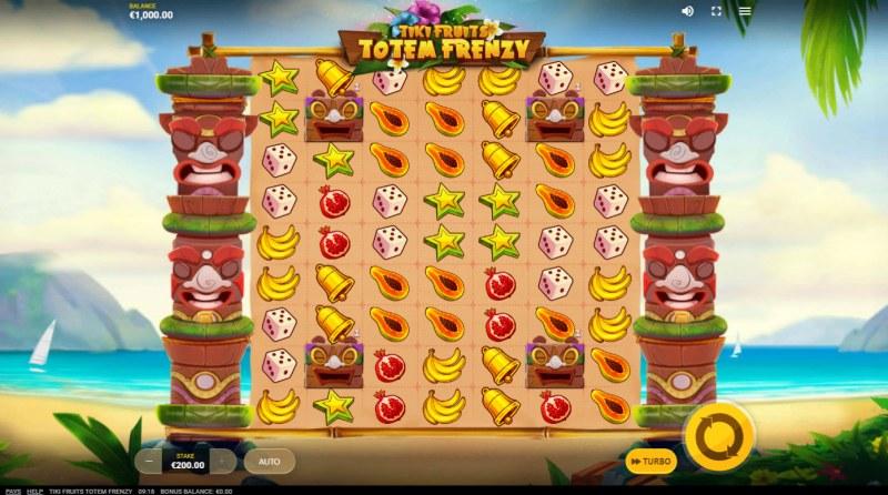 Tiki Fruits Totem Frenzy :: Base Game Screen