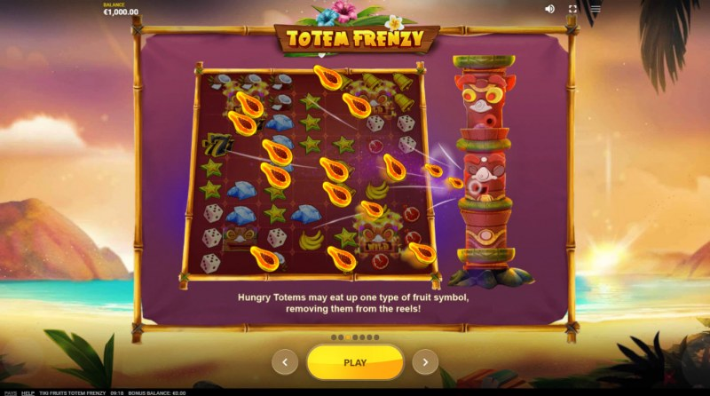 Tiki Fruits Totem Frenzy :: Feature Rules
