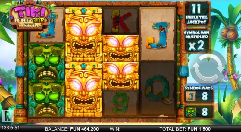 Tiki Infinity Reels Megaways :: Multiple winning combinations