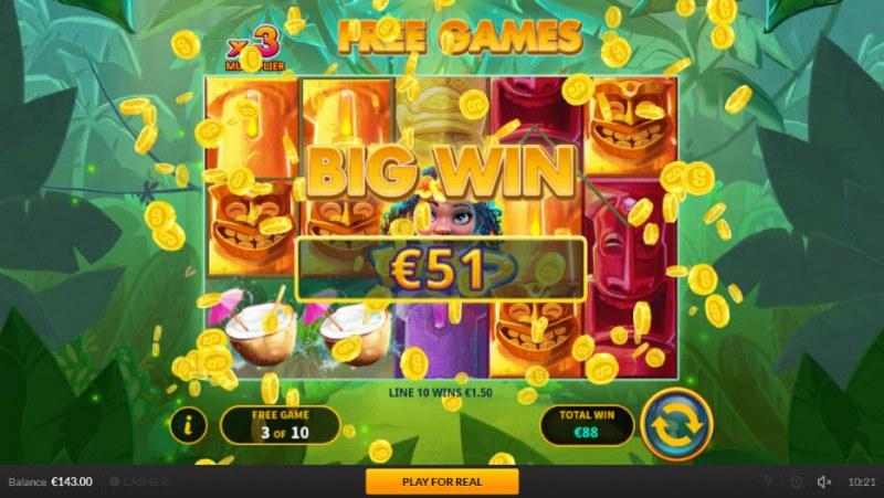 Tiki Luck :: Big Win