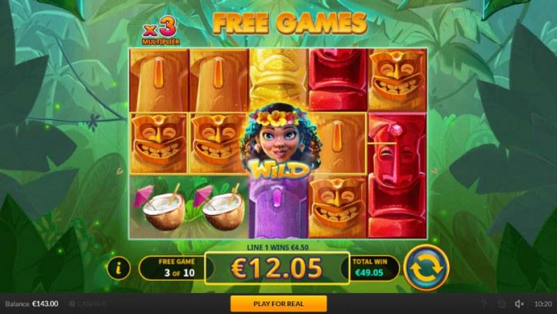 Tiki Luck :: Multiple winning paylines