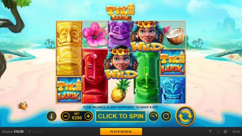 Tiki Luck :: Main Game Board