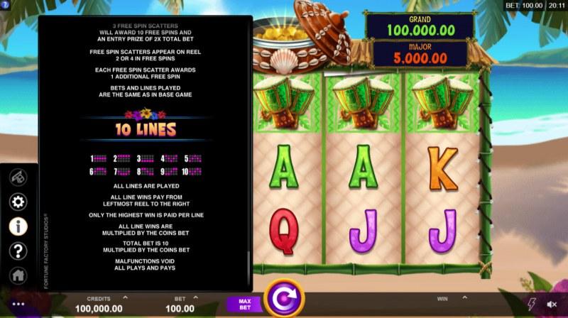 Tiki Mania :: Basic Game Rules