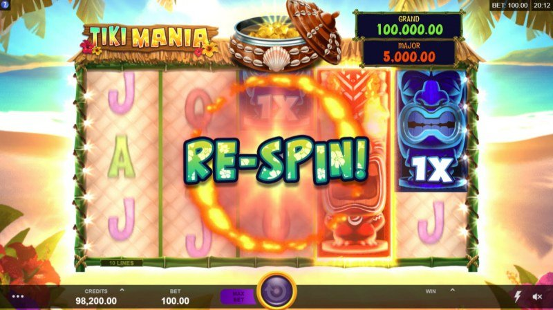 Tiki Mania :: Re-Spin activated