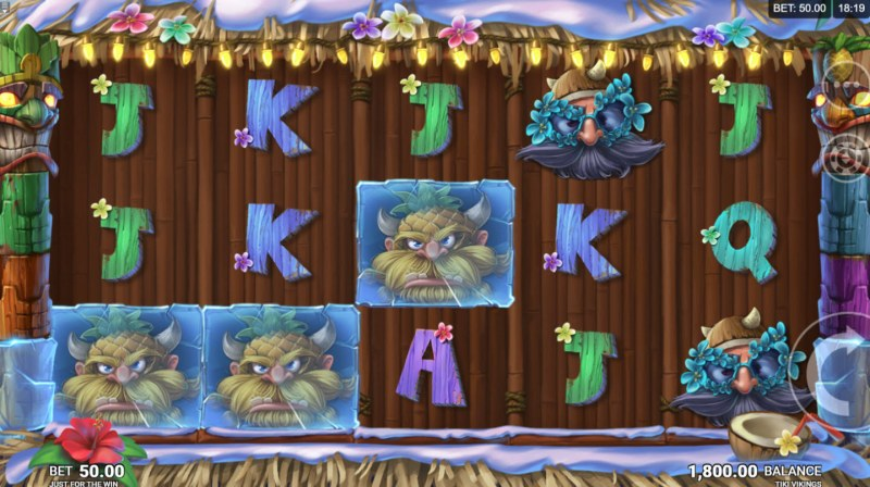 Play slots at iviCasino: iviCasino featuring the Video Slots Tiki Vikings with a maximum payout of $75,000
