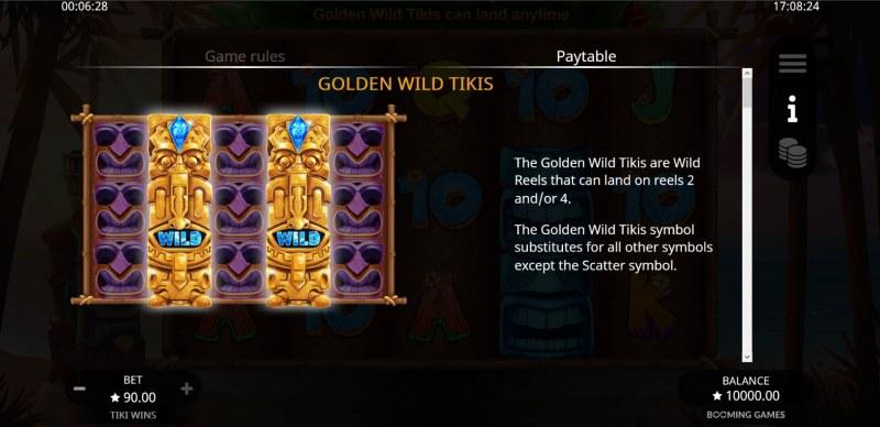 Tiki Wins :: Golden Wild Tiki