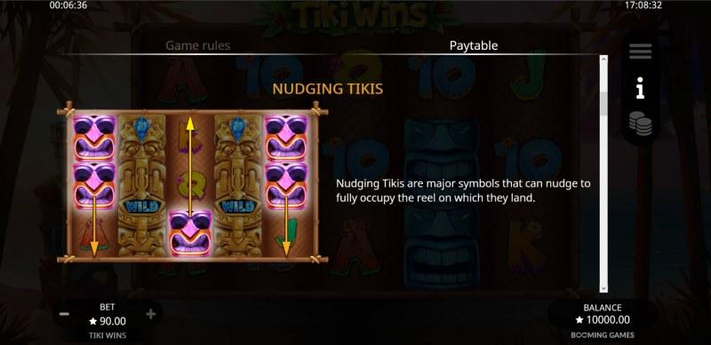 Tiki Wins :: Nudging Tikis