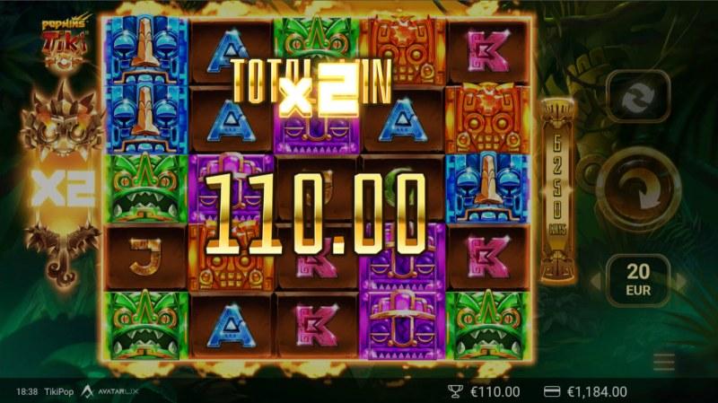 TikiPop :: X2 Win Multiplier