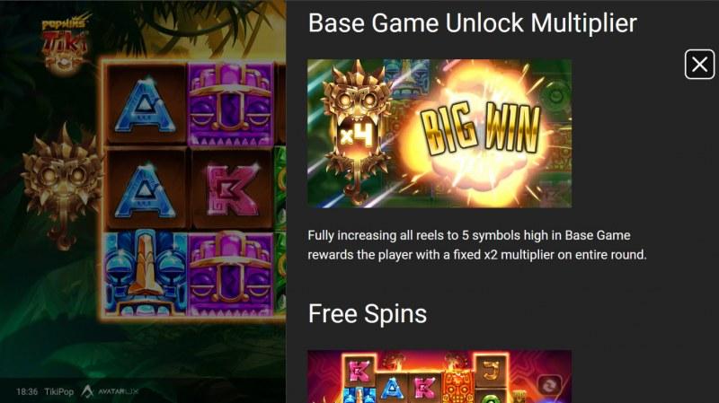 TikiPop :: Base Game Unlock Multiplier