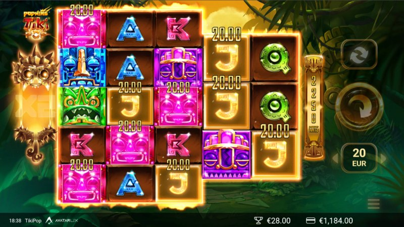 TikiPop :: Multiple winning combinations