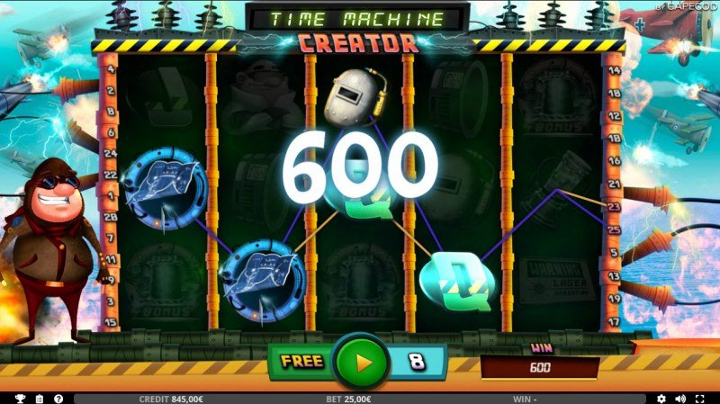 Time Machine Creator :: Free Spins Game Board