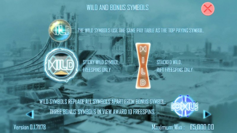 Timelines :: Wild Symbols Rules