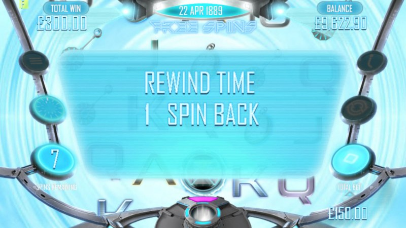 Timelines :: Rewind Time feature triggered